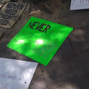 Freedom Plaza Demonstrations?