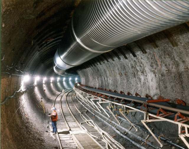 The Yucca Mountain exploratory tunnel, via the Nuclear Regulatory Commission