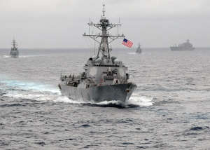 Guided Missile Destroyer USS Lassen