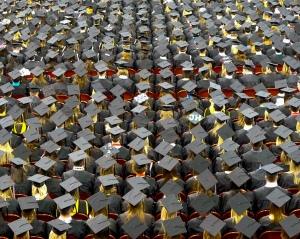 University of Nebraska - Lincoln caps via John Walker on flickr