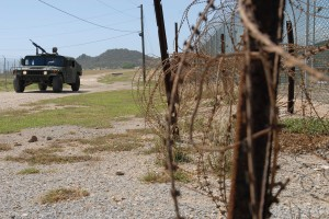 Humvee at Guantanamo via The U.S. Army on flickr