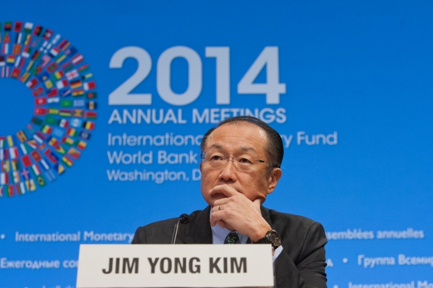 World Bank Group President Jim Yong Kim Opening Press Confeerence